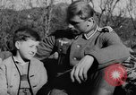 Image of German soldiers greeted by Austrians during Anschluss Austria, 1938, second 14 stock footage video 65675050939