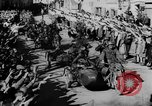 Image of German soldiers greeted by Austrians during Anschluss Austria, 1938, second 24 stock footage video 65675050939