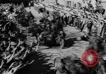 Image of German soldiers greeted by Austrians during Anschluss Austria, 1938, second 27 stock footage video 65675050939