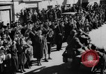 Image of German soldiers greeted by Austrians during Anschluss Austria, 1938, second 29 stock footage video 65675050939