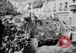 Image of German soldiers greeted by Austrians during Anschluss Austria, 1938, second 35 stock footage video 65675050939