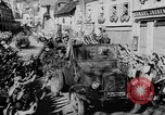Image of German soldiers greeted by Austrians during Anschluss Austria, 1938, second 36 stock footage video 65675050939
