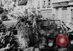Image of German soldiers greeted by Austrians during Anschluss Austria, 1938, second 37 stock footage video 65675050939