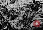 Image of German soldiers greeted by Austrians during Anschluss Austria, 1938, second 45 stock footage video 65675050939