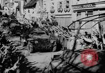 Image of German soldiers greeted by Austrians during Anschluss Austria, 1938, second 46 stock footage video 65675050939