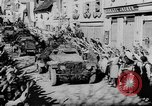 Image of German soldiers greeted by Austrians during Anschluss Austria, 1938, second 47 stock footage video 65675050939