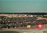 Image of Vietnamese refugee encampment in Florida Florida United States USA, 1975, second 7 stock footage video 65675050951