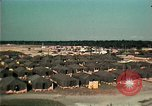 Image of Vietnamese refugee encampment in Florida Florida United States USA, 1975, second 9 stock footage video 65675050951