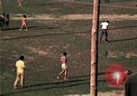 Image of Vietnamese refugee encampment in Florida Florida United States USA, 1975, second 28 stock footage video 65675050951