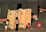 Image of Vietnamese refugee encampment in Florida Florida United States USA, 1975, second 51 stock footage video 65675050951