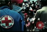Image of Clown entertains Vietnamese refugee children Florida United States USA, 1975, second 16 stock footage video 65675050952