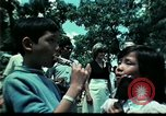Image of Clown entertains Vietnamese refugee children Florida United States USA, 1975, second 41 stock footage video 65675050952