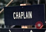Image of chaplain speaks to Vietnamese refugees United States USA, 1975, second 25 stock footage video 65675050954
