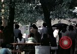 Image of chaplain speaks to Vietnamese refugees United States USA, 1975, second 33 stock footage video 65675050954
