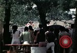 Image of chaplain speaks to Vietnamese refugees United States USA, 1975, second 48 stock footage video 65675050954