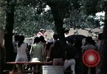 Image of chaplain speaks to Vietnamese refugees United States USA, 1975, second 50 stock footage video 65675050954