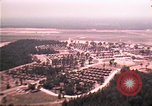 Image of aerial view of Vietnamese refugee camp at Eglin Air Force Base Florida United States USA, 1975, second 6 stock footage video 65675050956