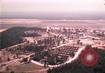 Image of aerial view of Vietnamese refugee camp at Eglin Air Force Base Florida United States USA, 1975, second 7 stock footage video 65675050956