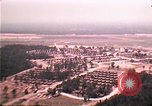 Image of aerial view of Vietnamese refugee camp at Eglin Air Force Base Florida United States USA, 1975, second 13 stock footage video 65675050956