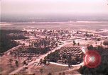 Image of aerial view of Vietnamese refugee camp at Eglin Air Force Base Florida United States USA, 1975, second 19 stock footage video 65675050956