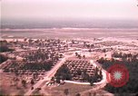 Image of aerial view of Vietnamese refugee camp at Eglin Air Force Base Florida United States USA, 1975, second 26 stock footage video 65675050956