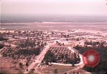 Image of aerial view of Vietnamese refugee camp at Eglin Air Force Base Florida United States USA, 1975, second 28 stock footage video 65675050956