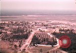 Image of aerial view of Vietnamese refugee camp at Eglin Air Force Base Florida United States USA, 1975, second 29 stock footage video 65675050956