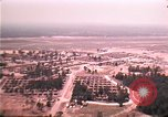 Image of aerial view of Vietnamese refugee camp at Eglin Air Force Base Florida United States USA, 1975, second 31 stock footage video 65675050956