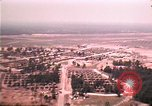 Image of aerial view of Vietnamese refugee camp at Eglin Air Force Base Florida United States USA, 1975, second 35 stock footage video 65675050956