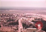 Image of aerial view of Vietnamese refugee camp at Eglin Air Force Base Florida United States USA, 1975, second 36 stock footage video 65675050956