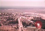 Image of aerial view of Vietnamese refugee camp at Eglin Air Force Base Florida United States USA, 1975, second 37 stock footage video 65675050956