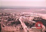 Image of aerial view of Vietnamese refugee camp at Eglin Air Force Base Florida United States USA, 1975, second 41 stock footage video 65675050956