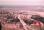 Image of aerial view of Vietnamese refugee camp at Eglin Air Force Base Florida United States USA, 1975, second 42 stock footage video 65675050956