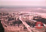 Image of aerial view of Vietnamese refugee camp at Eglin Air Force Base Florida United States USA, 1975, second 44 stock footage video 65675050956
