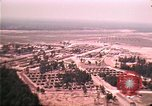 Image of aerial view of Vietnamese refugee camp at Eglin Air Force Base Florida United States USA, 1975, second 48 stock footage video 65675050956