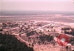 Image of aerial view of Vietnamese refugee camp at Eglin Air Force Base Florida United States USA, 1975, second 52 stock footage video 65675050956