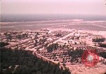 Image of aerial view of Vietnamese refugee camp at Eglin Air Force Base Florida United States USA, 1975, second 56 stock footage video 65675050956