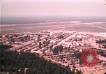 Image of aerial view of Vietnamese refugee camp at Eglin Air Force Base Florida United States USA, 1975, second 58 stock footage video 65675050956