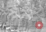 Image of army nurses and soldiers France, 1918, second 1 stock footage video 65675050990