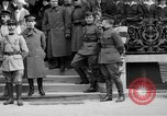 Image of army nurses and soldiers France, 1918, second 2 stock footage video 65675050990