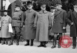 Image of army nurses and soldiers France, 1918, second 21 stock footage video 65675050990