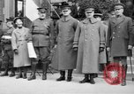 Image of army nurses and soldiers France, 1918, second 24 stock footage video 65675050990