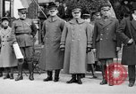 Image of army nurses and soldiers France, 1918, second 25 stock footage video 65675050990