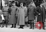 Image of army nurses and soldiers France, 1918, second 26 stock footage video 65675050990
