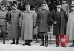 Image of army nurses and soldiers France, 1918, second 27 stock footage video 65675050990