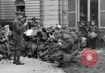 Image of army nurses and soldiers France, 1918, second 34 stock footage video 65675050990