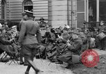 Image of army nurses and soldiers France, 1918, second 36 stock footage video 65675050990