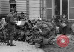 Image of army nurses and soldiers France, 1918, second 37 stock footage video 65675050990