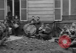 Image of army nurses and soldiers France, 1918, second 43 stock footage video 65675050990