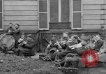 Image of army nurses and soldiers France, 1918, second 46 stock footage video 65675050990